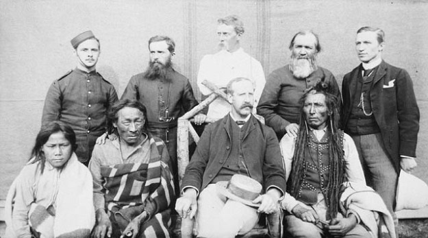 Big Bear Poundmaker et al NWMP Baracks 1885